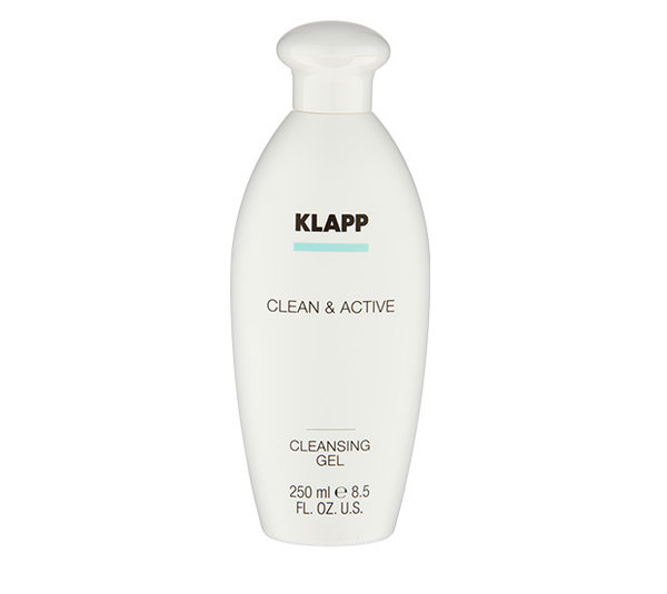 Klapp Cosmetics Clean & Active Cleansing Gel 250 ml
