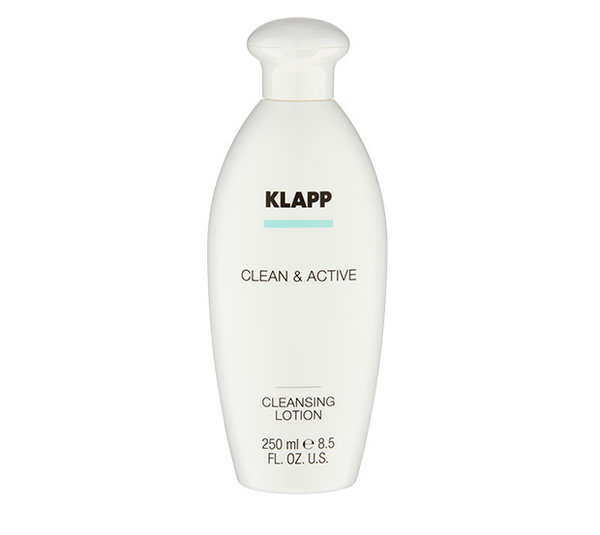 Klapp Cosmetics Clean & Active Cleansing Lotion 250 ml