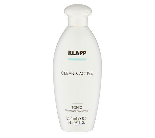 Klapp Cosmetics Clean & Active Tonic without Alcohol 250 ml