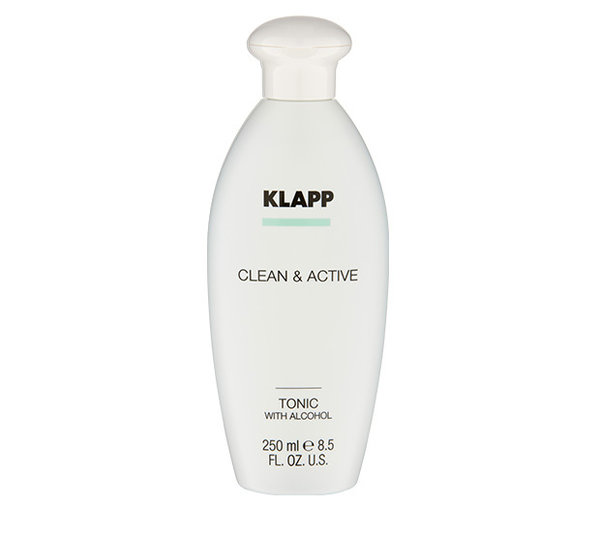 Klapp Cosmetics Clean & Active Tonic with Alcohol 250 ml